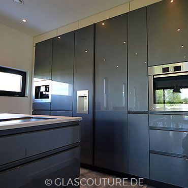 Glasküche Gray Pearl 04