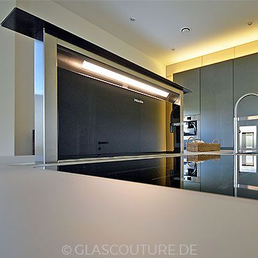Glasküche Gray Pearl 05