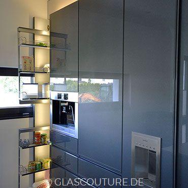 Glasküche Gray Pearl 09