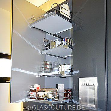 Glasküche Gray Pearl 12