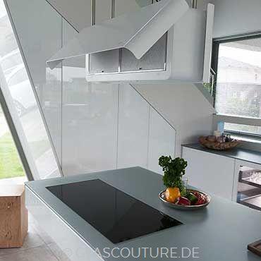 Glasküche White Pearl 09