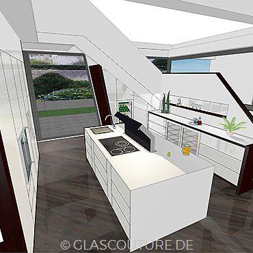 Glasküchen-Planung 03