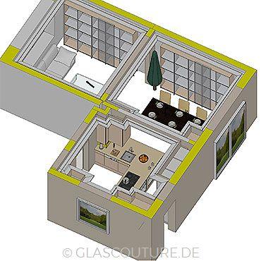 Glasküchen-Planung 08