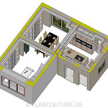 Glasküchen-Planung 09