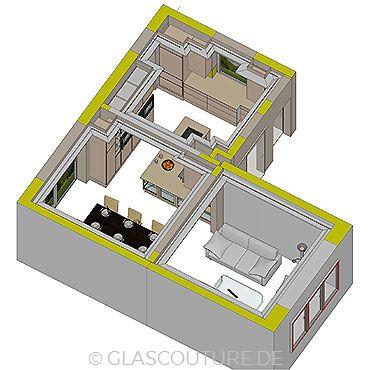 Glasküchen-Planung 10