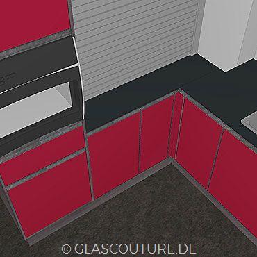 Glasküchen-Planung 12