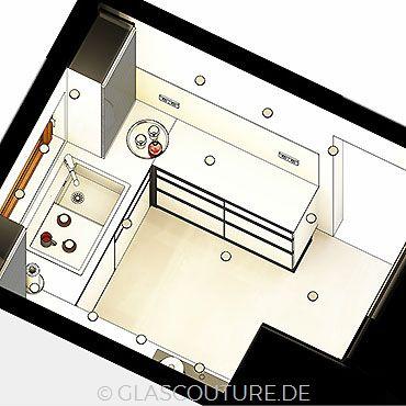 Glasküchen-Planung 23