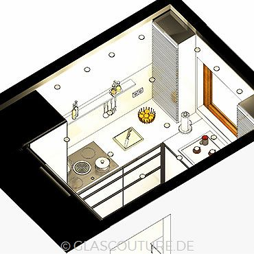 Glasküchen-Planung 24
