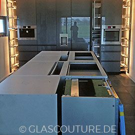 Glasküchenmontage