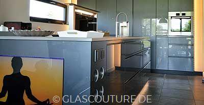 Glasküche GRAY PEARL