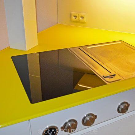 Glasküchen-Arbeitsplatten